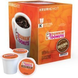 Dunkin' Donuts Coffee Single-Serve K-Cups, 24ct