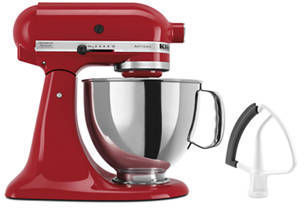KitchenAid 5qt Artisan Series Tilt Head Stand Mixer w/ Flex Edge Beater