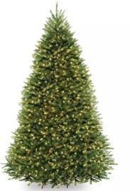 9' Dual-Lit Fir Christmas Tree