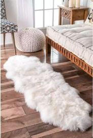 Hand Made Sheepskin Wool Runner