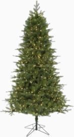 Holiday Living 7.5-ft Spruce Pre-Lit Christmas Tree