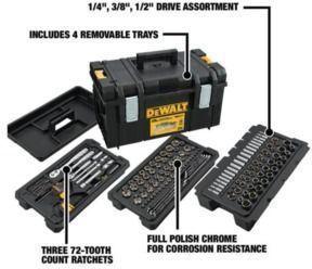 226-Piece Mechanics Tool Set with 22 Medium Tool Box