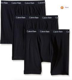 Calvin Klein Men's Cotton Stretch Multipack Boxer Briefs 3-Pack