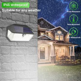 2 Pack of Outdoor 266 LED Solar Lights