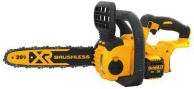 DeWalt 12in 20V Lithium-Ion Cordless Brushless Chainsaw (Tool Only)