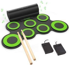 PAXCESS Electronic Drum Set w/ Built-in Speaker