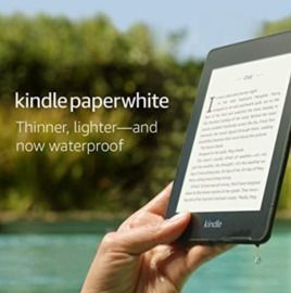 Kindle Paperwhite - Now Waterproof