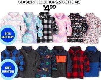 $4.99 for Kid Fleeces
