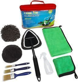 9pcs Car Wash Brush Detailing Kit