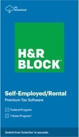 H&R Block 2020, Premium, For PC,