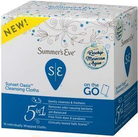 16 Count Summer's Eve Cleansing Cloth