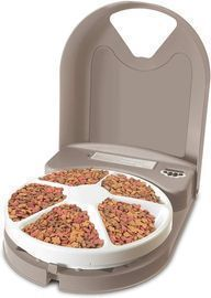 PetSafe 5 Meal Food Dispenser with Digital Clock
