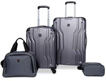 Tag Legacy 4-Piece Hardside Luggage Set