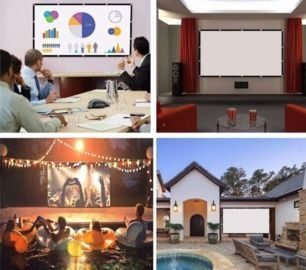 50% OFF Projector Screen - 120 inches