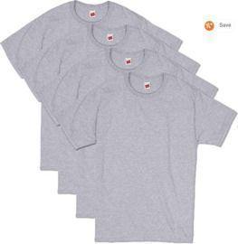 Hanes Men's ComfortSoft Short Sleeve T-Shirt 4-Pack