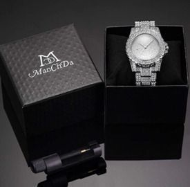 Iced Out Diamond Watch