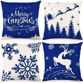 Christmas Winter Pillow Covers