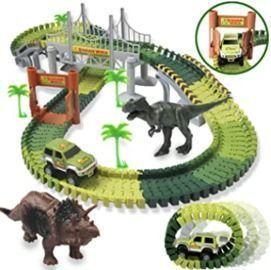 Dinosaur Car Racetrack