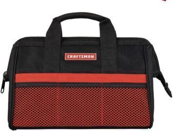 Craftsman 13W x 9.75 H Wide Mouth Tool Bag