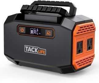 Tacklife P16 150W Portable Power Station 167Wh 45000mAh Battery Generator