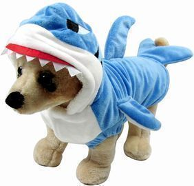 Pet Dog Shark Costume