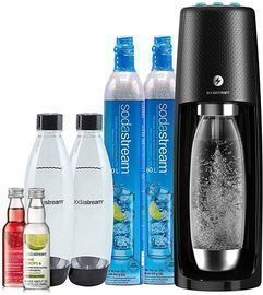 SodaStream Fizzi One Touch Sparkling Water Maker Bundle