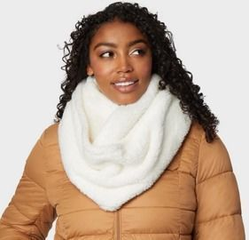 32 Degrees Women's Plush Sherpa Infinity Scarf (2 Colors)