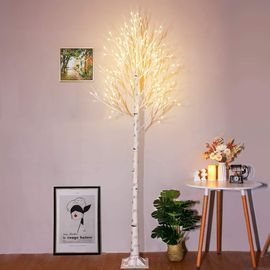 8ft Lighted Birch Tree