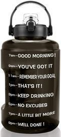 Gallon Water Bottle with Motivational tracker