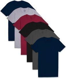 6-Pack Fruit of the Loom Men's Pocket T-Shirt