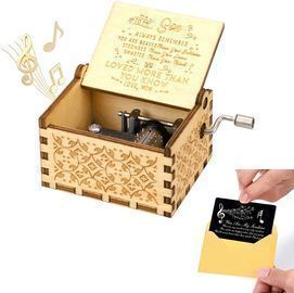 Vintage Wooden Musical Box