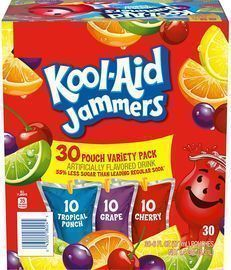 Kool-Aid Jammers Variety Pack (30 Pouches)