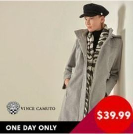 All Vince Camuto Coats on Zulily are $39.99