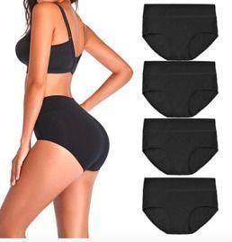 Women's High Waist Cotton Underwear