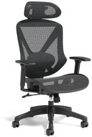 Union & Scale FlexFit Dexley Mesh Office Chair, Black