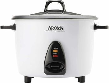 Aroma Rice Cooker & Food Steamer 20 Cup (Certified Refurbished)