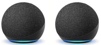4th Gen Echo Dot Smart Speaker w/ Alexa x 2