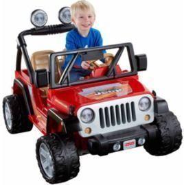 Power Wheels Jeep Wrangler 12-V Ride On