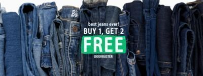 Buy 1, Get 2 Free Jeans from OshKosh