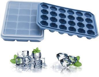 Ice Cube Tray with Lids -2 Pack