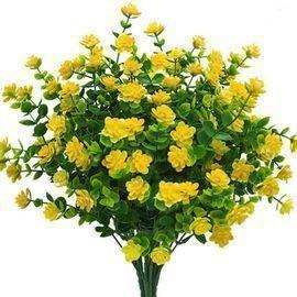 6 Bundles Artificial Flowers