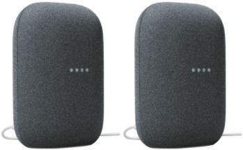 Google Nest Audio Smart Speaker x 2