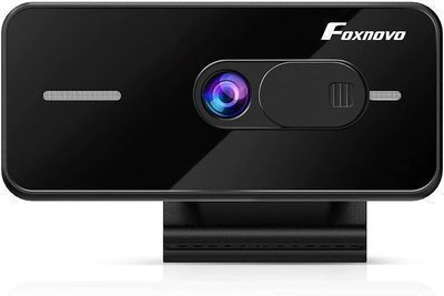 Foxnovo 1080p Webcam w/ Auto Focus