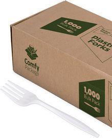 1000pk Plastic Forks