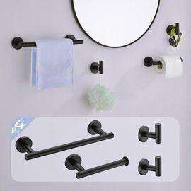 4-Piece Bathroom Hardware Set