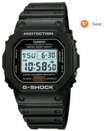 Casio Men's G-Shock Quartz Watch w/ Resin Strap