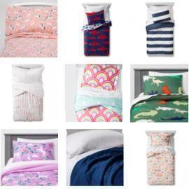 Pillowfort Kids' Bedding is 40% off!!!