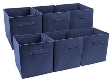 Sorbus Foldable Storage Cubes - 6pk