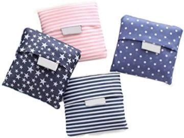 Reusable Shopping Bags - 4pk