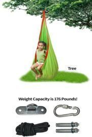 Kids Pod Indoor and Outdoor Hanging Hammock Chair